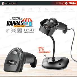 Lector Codigo Barra Zebra DS2208 2D USB IP42 IMAGER