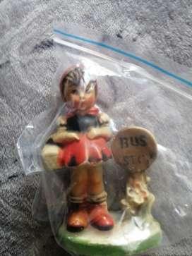Caperusita roja muñeca antigua