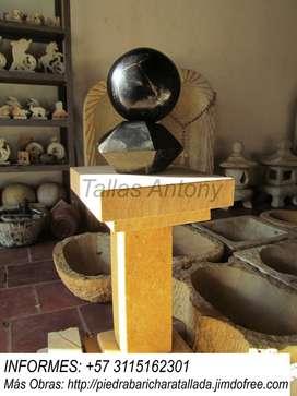 Esferas en piedra