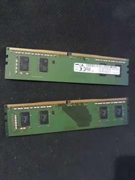 RAM 8GB (2x4) 2400hz Samsung NEGOCIABLE
