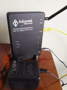 Router AWR754GR Advantek Networks Router 802.11g 4port 10100