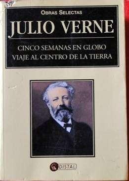 JULIO VERNE OBRAS SELECTAS   CINCO SEMANAS EN GLOBO   VIAJE  AL CENTRO DE LA TIERRA