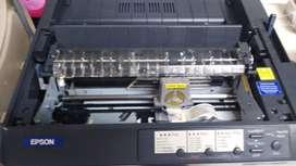 Impresora Matricial EPSON FX 890  Negra