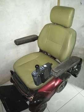Silla de ruedas eléctrica  recargable