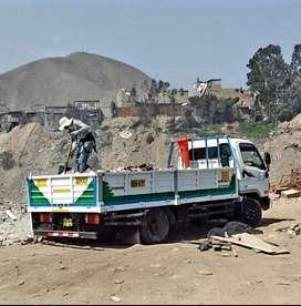 eliminación de desmonte y recojo de escombros precio barato