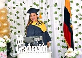 Togas de Alquiler para Graduación Universidad colegios
