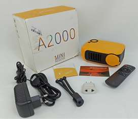 Mini Video Beam Barato TRANSJEE A2000 800 Lumens