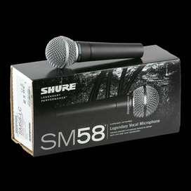 Micrófono Shure SM58-LC Music Box Colombia Vocal Alambrico