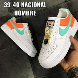 Zapatos Nike Forcé One Para Hombre Talla 39-40 Nacional Euro 42
