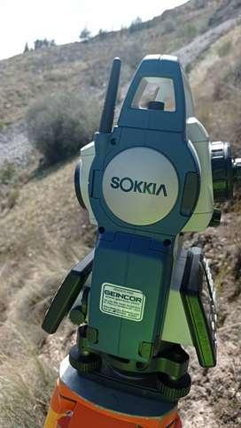 venta de estacion total sokkia cx 105