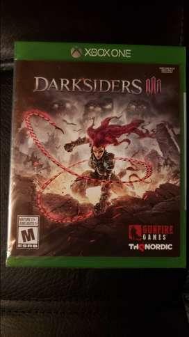 Darksiders III XBox One y otros Nuevos incluye envío nacional