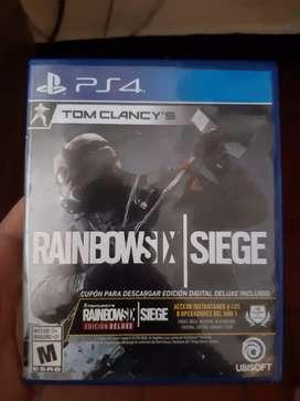 Vendo juego RAIMBOW SIX SIEGE