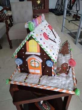 Casita Jengibre Navidad