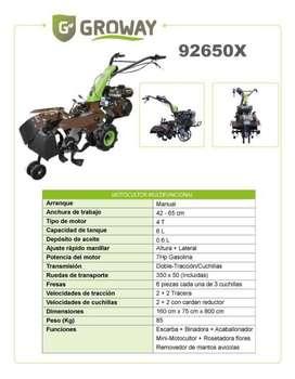 Motocultor Multifuncional 7hp Gasolina