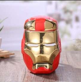 Taza de Ceramica 3D Iron Man Head Collector