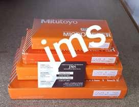 Micrómetro de exteriores mitutoyo