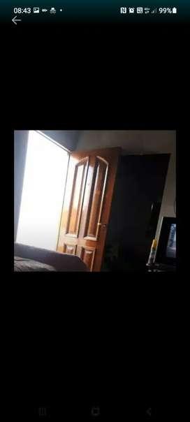 Pinto puerta portones. Barnizo