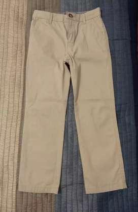 Pantalón largo infantil. Tommy Hilfiger. Niños de 6 a 7 años. Sin uso