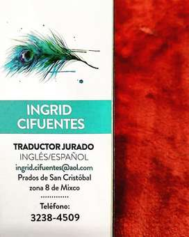 Sworn Translator Ciudad San Cristóbal/San Lucas Q.75