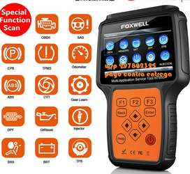 Scanner Automotriz Foxwell Nt650 Abs, Airbag, Oil Reset