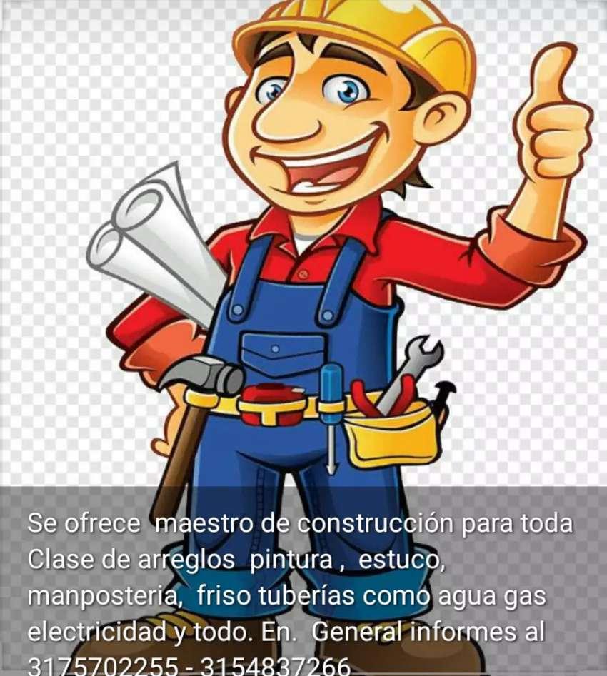 Ofrezco mis. Servicios de.maestro de construcción 0