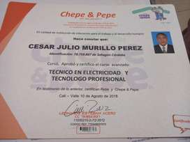 Ofrezco Miservicios Como Electricista Pr