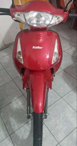 Vendo moto keller nueva sin uso 0km todos los papeles