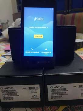 celular quantum 8gb doble sim dual sim nuevo en caja libre 2 lineas libre
