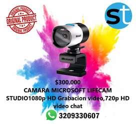 CAMARA MICROSOFT LIFECAM STUDIO 1080 p HD GRABACION VIDEO ,720 P HD VIDEO CHAT