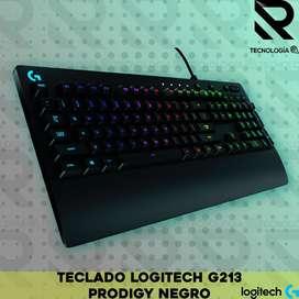 TECLADO LOGITECH G213 PRODIGY NEGRO