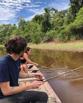 Disfruta de la pesca de pirañas en Iquitos