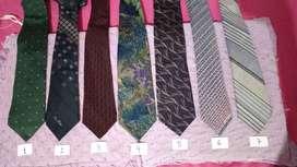 Corbatas De Seda 100% Art Usado Precio Por C/u