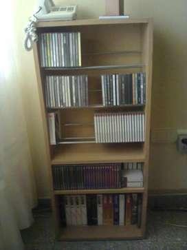 Vendo Mueble para Cd Dvd Peliculas.