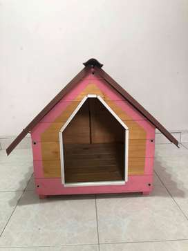 venta casa mascota en madera