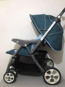 Coche con Silla de carro Portabebe Infanti Extoura  Usado