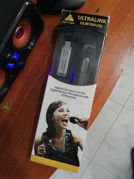 Micrófono Behringer Ultralink ULM100 USB