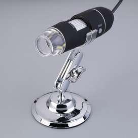 Microscopio Digital Usb 1600x Reparación de celulares O Fines Educativos