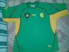 Camiseta Camerun Puma Talle M