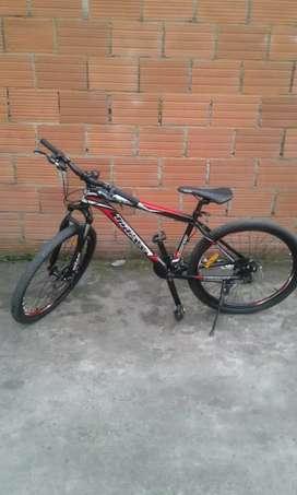 Vendo una bicicleta montañera
