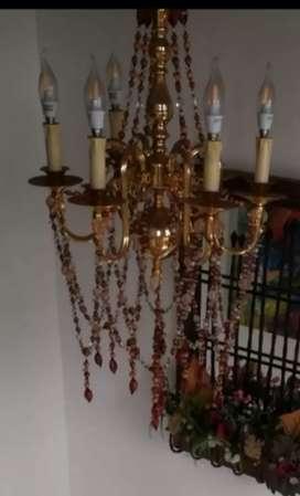 Espectacular Lámpara antigua