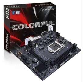 Vendo Nueva sin Uso Motherboard Colorful H410 M-t Pro V20 Intel 10 Gen Lga 1200