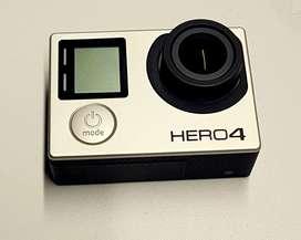 VENDO GOPRO HERO 4 BLACK impecable sin detalles