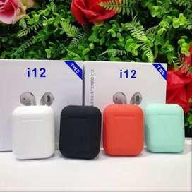 Audífonos AirPods i12 tws Bluetooth5.0 control táctil