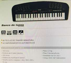 Teclado Casio Tone Bank Ma-120