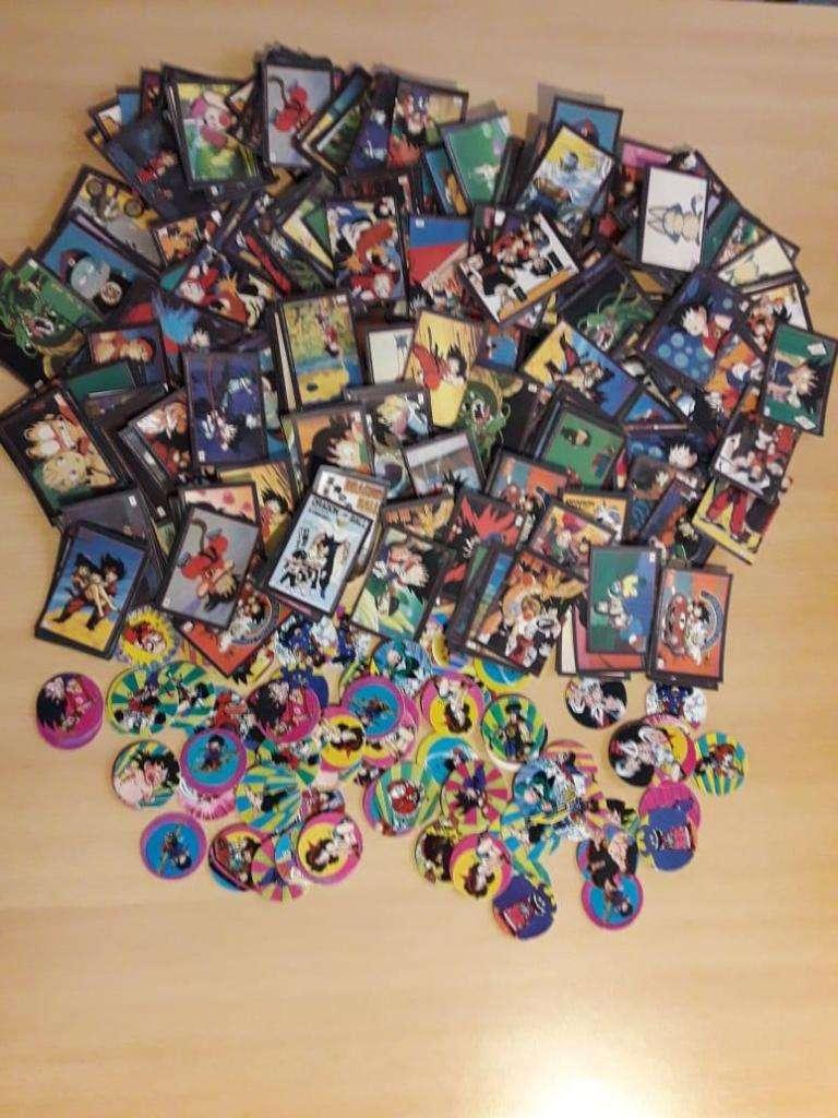 Figuritas y Tazos de Dragon Ball 0