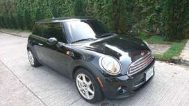 Mini Cooper Negro Full Equipo Modelo 2011 Perfecto Estado