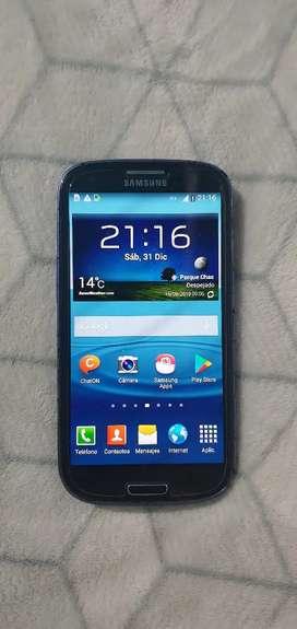 Galaxy S3 con detalles de pintura