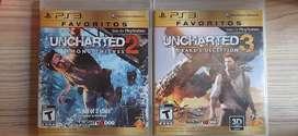 Uncharted 2 y 3
