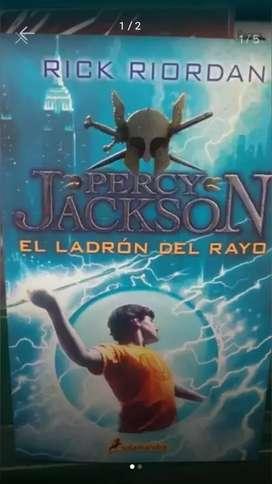 PERCY JACKSON Y EL LADRON DEL RAYO (nuevo)