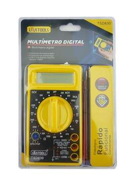 Multímetro Digital Tester Multifuncional Herramienta